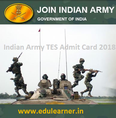 Indian Army TES 43 Admit Card 2020 Exam Date यहाँ देंखे TES Hall Ticket