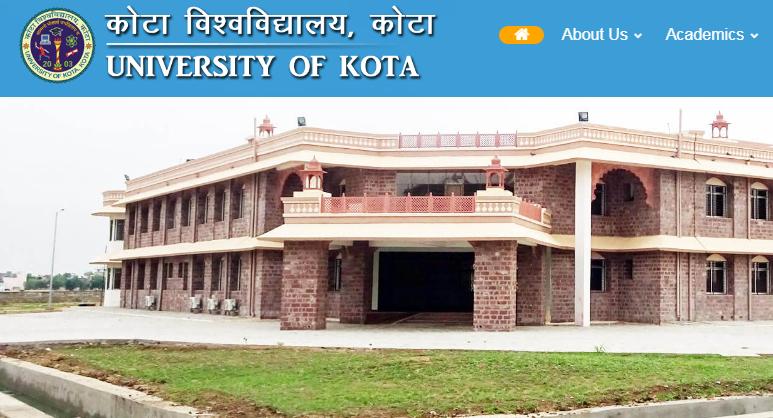UOK BA Result 2019 Kota University 1st 2nd 3rd Year Result Name Wise