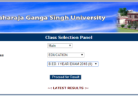 MDSU MA & MSC Result 2020 PG Previous/ Final Year Result Name Wise