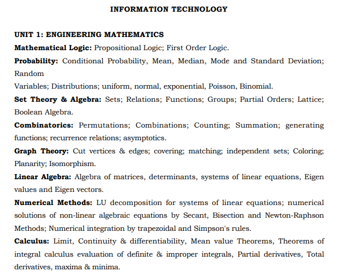 TRB Polytechnic Lecturer Syllabus 2020 Pdf Download Subject Wise, Exam Pattern, Previous Paper