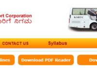KSRTC Jobs 2019 Driver, Conductor, Technical Assistant Notification, Online Form