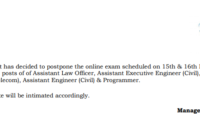 CIDCO Assistant Engineer Hall Ticket 2020 AE Exam Date, Admit Card